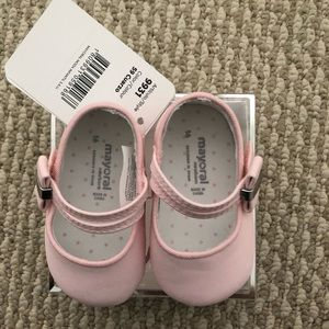 Mayoral newborn shoes